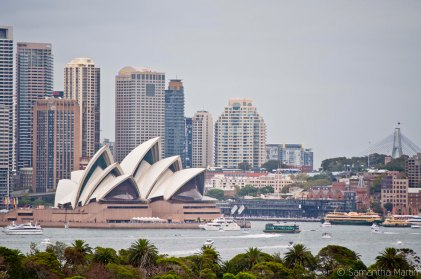 Sydney Opera House from Taronga