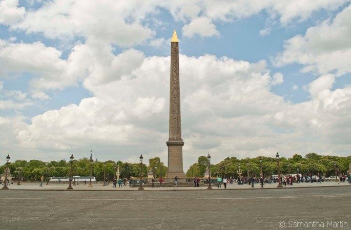 The Luxor Obelisk