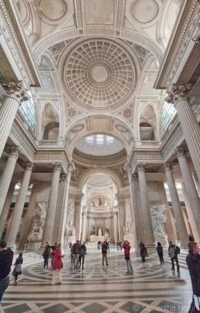 Panthéon interior
