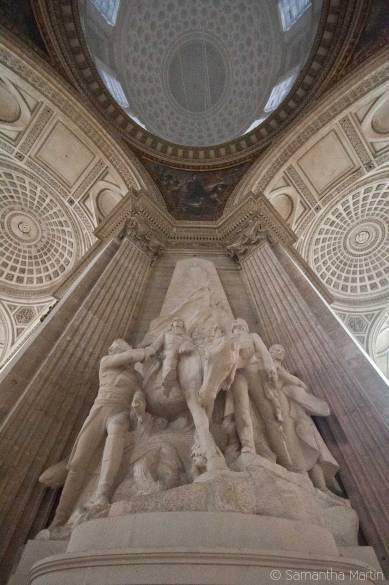 Panthéon sculpture