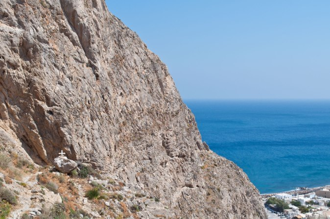 On the trail to Ancient Thira