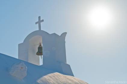 Church bell in Oia